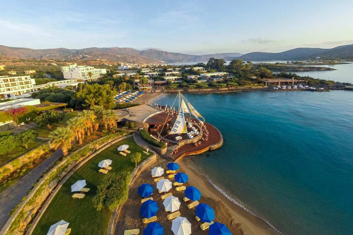 Elounda Bay Palace Hotel In Elounda Kreta Griechenand Luxury